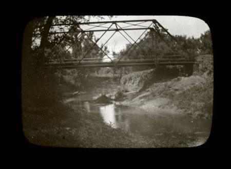 Dodge Street bridge Papio