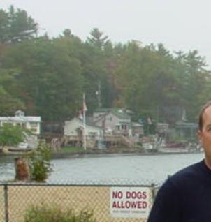 Bill at Kobits Pond house